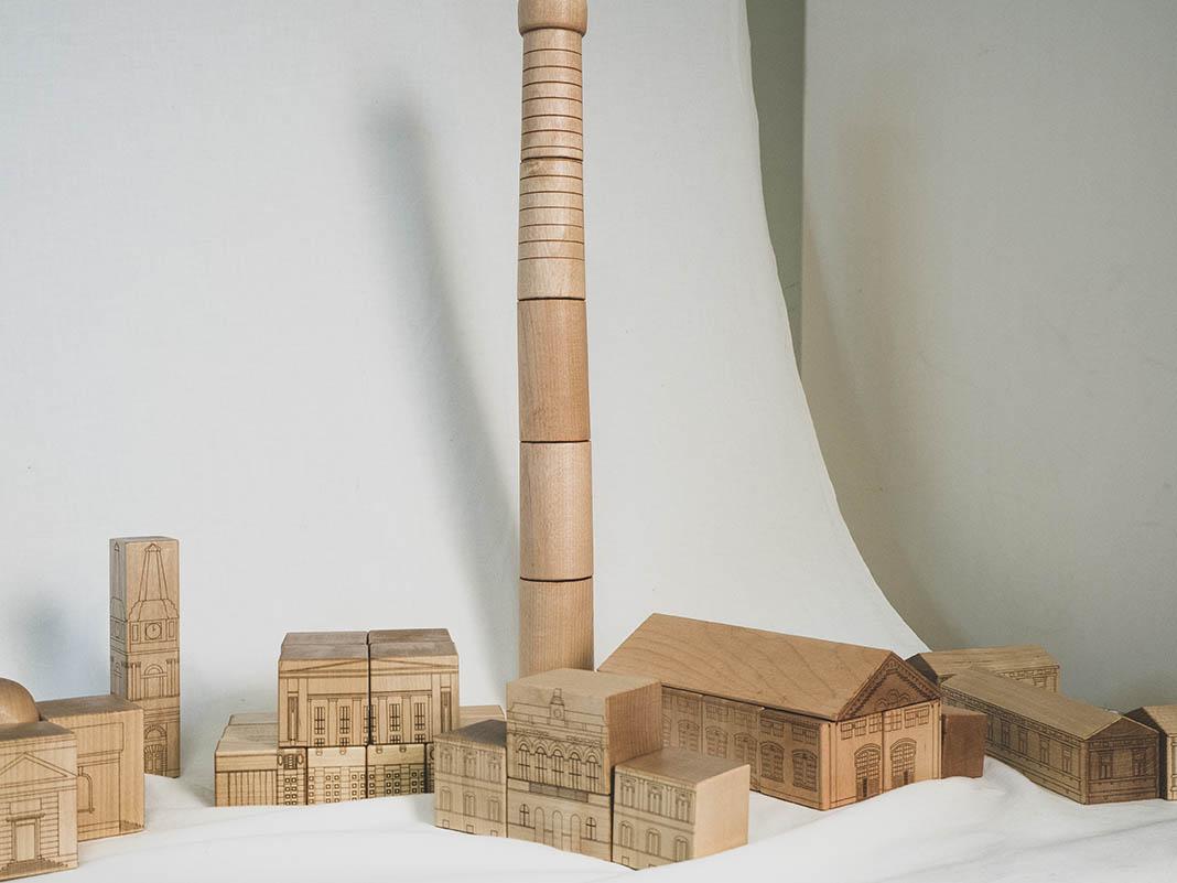 Leikkikaupunki Teollisuusmuseo, Verkatehdas Värjäämö, Raatihuone, Teatteri